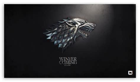 game  thrones winter  coming stark  hd desktop