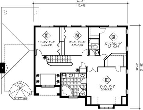 multi level house floor plans multi level house plans home design pi 20471 12223