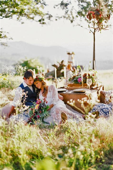 romantic outdoor picnic wedding ideas page