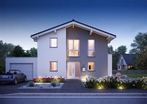 Die Moderne Haus by Familienhaus Vero Satteldach Mit Flacher Dachneigung