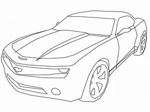 Chevy Camaro Coloring Page - Coloring Home