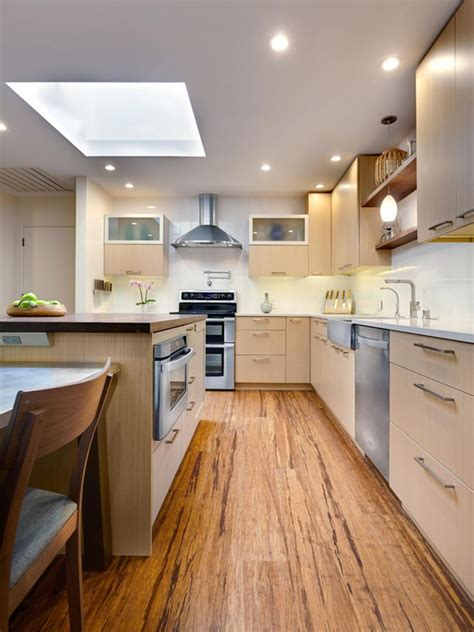modern kitchen floors 10 reasons to bamboo flooring 4216