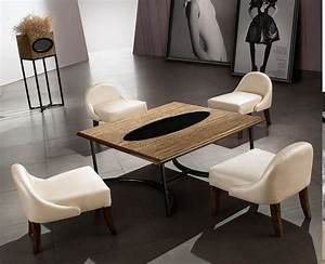 Table Salle à Manger Scandinave : table salle a manger japonaise ~ Teatrodelosmanantiales.com Idées de Décoration