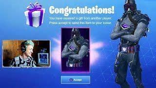epic games gift ninja  gas trooper skin rarest skin