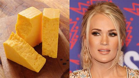 This Carrie Underwood Cheese Sculpture Is Horrifying ...