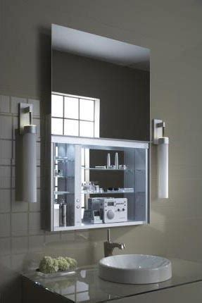Robern Mirrored Cabinets by Robern Uc4827fpl 48 Inch Uplift Cabinet Flat Plain