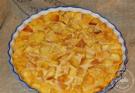 cuisine clafoutis aux pommes clafoutis aux pommes caramélisées au beurre salé la