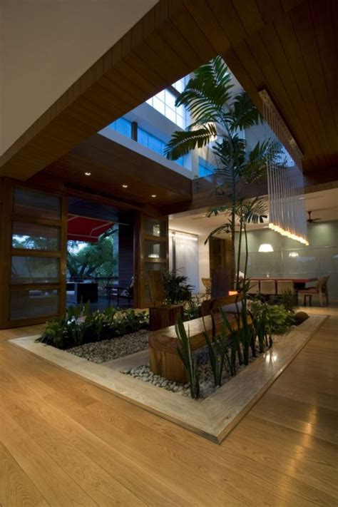 Contemporary New Delhi Villa With Amazing Courtyard And Water Features by N85 Residence In New Delhi India