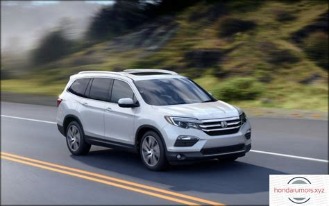 2019 Honda Pilot Redesign, Changes And Price  2018 2019