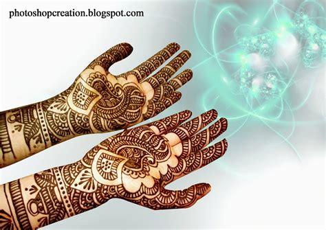 designs of wonderful mehandi designs photoshop creation