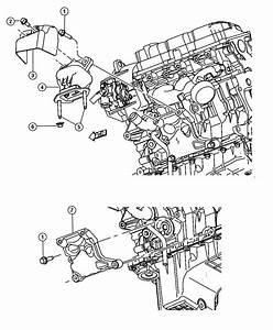 Dodge Challenger Bracket  Engine Mount  Left  Left Side