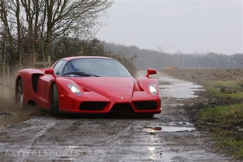 off road sports car ferrari enzo wrc hooning rally off road extreme front