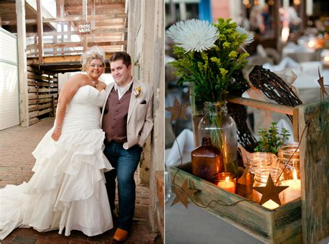 texas country wedding  vintage decorations rustic