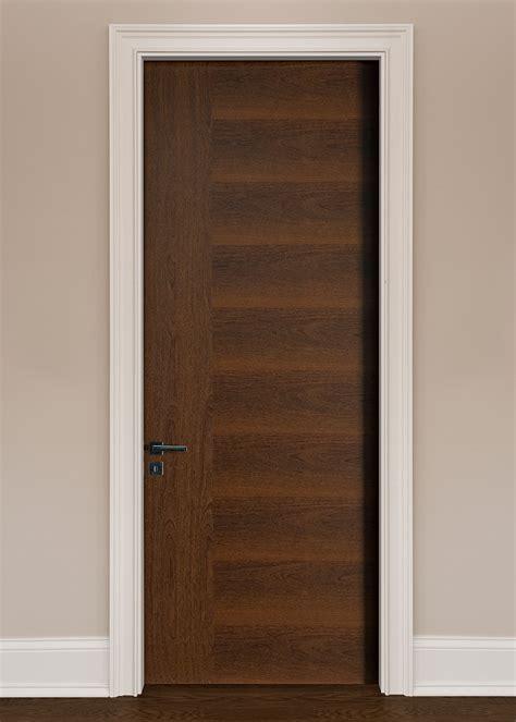 Modern Interior Doors, Wood Veneer Solid Core, Custom By