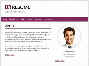 How to build a wordpress resume site using ithemes builder for Free resume building websites