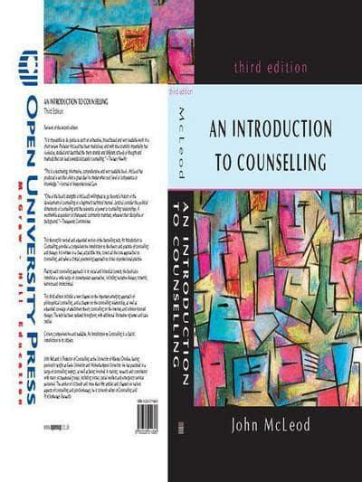 An introduction to counselling : John Mcleod (author ...