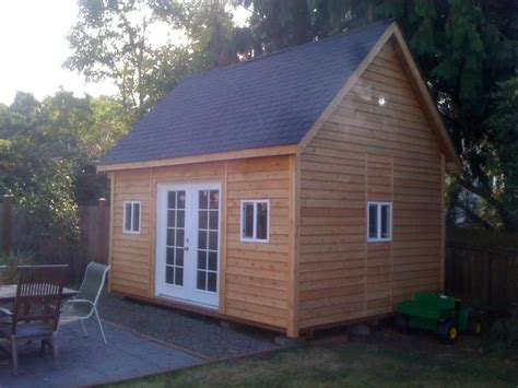 10x20 Shed Plans With Loft by Storage Shed With Loft Plans