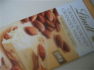 Filberts and Chocolate: Lindt Grand Almonds White
