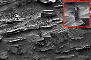 UFO SIGHTINGS DAILY: Alien Woman On Mars Watching Rover ...