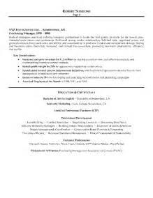 sle of best resume format 2013 cv of purchase manager