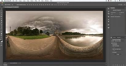 Photoshop Panorama Panoramic Photomerge Adobe Field Create