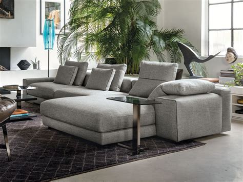 Atlas Sofa With Chaise Longue By Arketipo Design Mauro