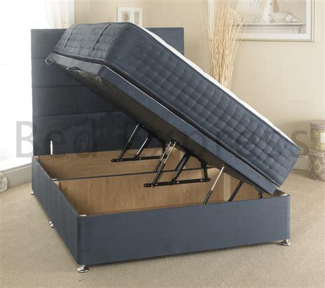 king size ottoman storage bed luxury ottoman divan storage bed single double king size