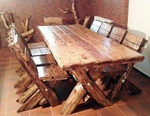 Casa Padrino Esszimmer Set Rustikal Tisch 6 Sthle