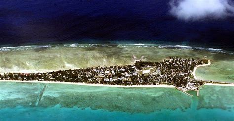 climate change sinking pacific islands