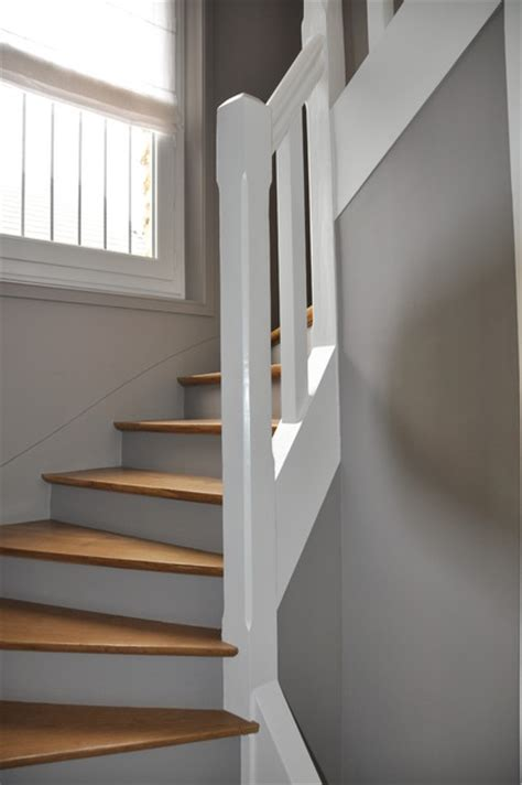 deco murale cuisine design rénovation d 39 une cage d 39 escalier contemporain escalier