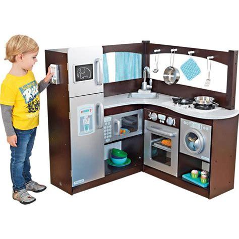 cuisine en jouet davaus cuisine moderne en bois jouet avec des