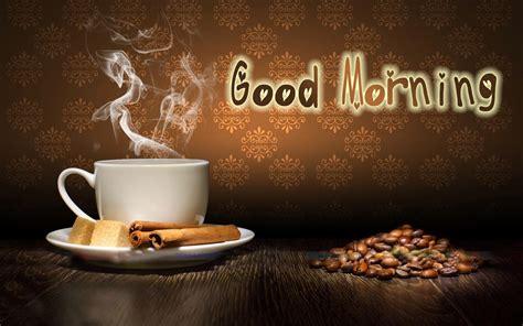 Guten Morgen Mit Kaffee Hd Desktophintergrund Breitbild