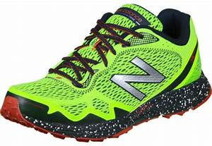 New Balance MT910 trail running shoes neon yellow