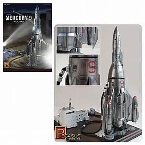 Mercury 9 Space Rocket Model Kit - Pegasus Hobbies - Space ...