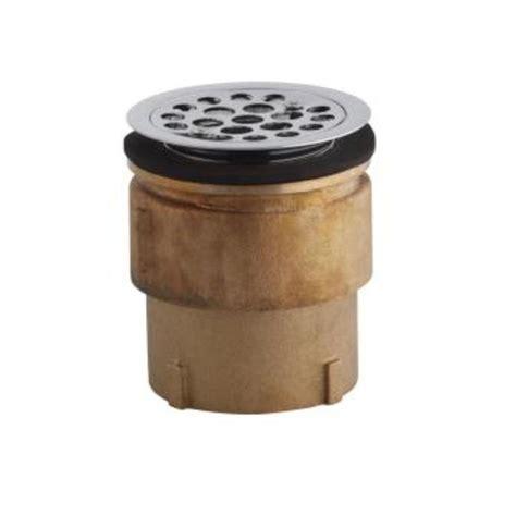 kohler service sink strainer for 2 in caulk connection in