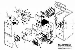 Icp 90  Single Stage Gas Furnace Parts