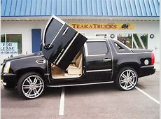 Cadillac Escalade EXT Another dream car Not this