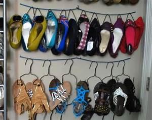 Idée Rangement Chaussures A Faire Soi Meme : mes 3 astuces pour ranger facilement toutes mes chaussures ~ Dallasstarsshop.com Idées de Décoration