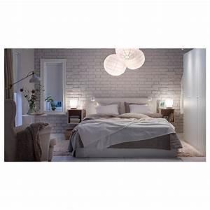 Lit Haut Ikea : malm cadre de lit haut 2 rangements blanc leirsund 180 x 200 cm ikea ~ Teatrodelosmanantiales.com Idées de Décoration