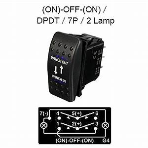 E Support U2122 Car Auto 12v Momentary Light Button Rocker