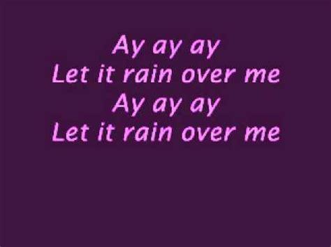 Let It Rain Over Me