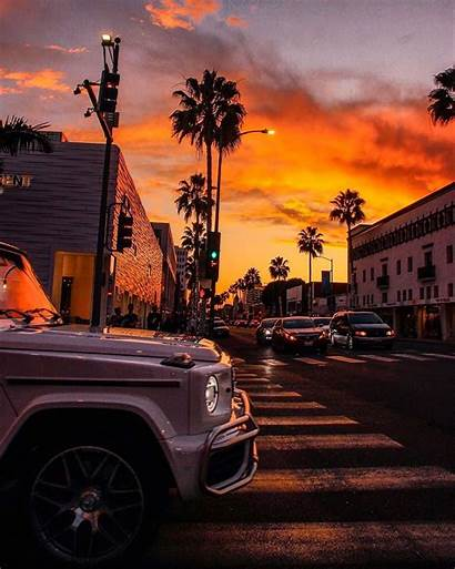 Drive Rodeo Sunset Sunsets Rodeodrive Posted