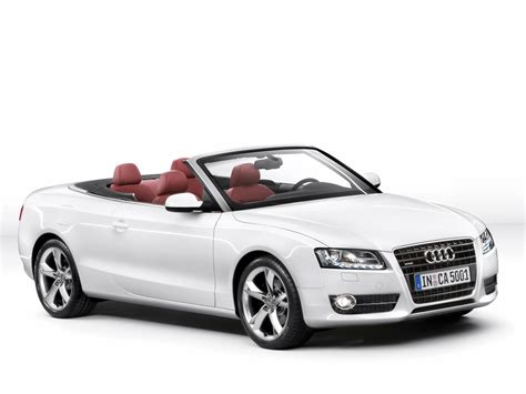 Audi Convertible by 2010 Audi A5 Convertible Front And Side 1280x960
