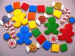 Candyland cookies | Decorated Cookies | Pinterest | Photos ...