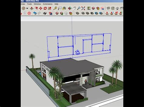 sketchup create group  slice section tool