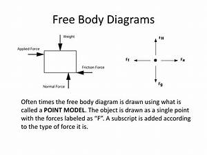 Science Free Body Diagram Labels