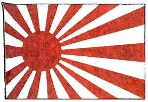 Japan, Imperial Navy Flag | ClipArt ETC