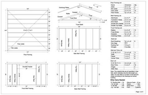 storage building plans    build diy blueprints