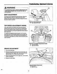 Page 23 Of Simplicity Lawn Mower Zt Series User Guide