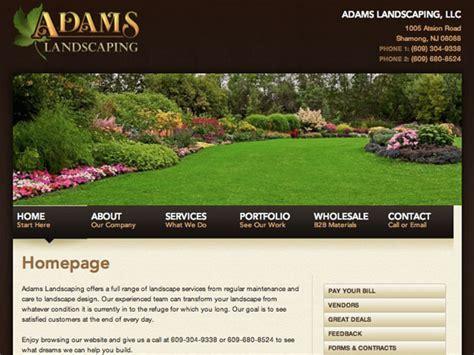 site design landscape be one landscaping websites